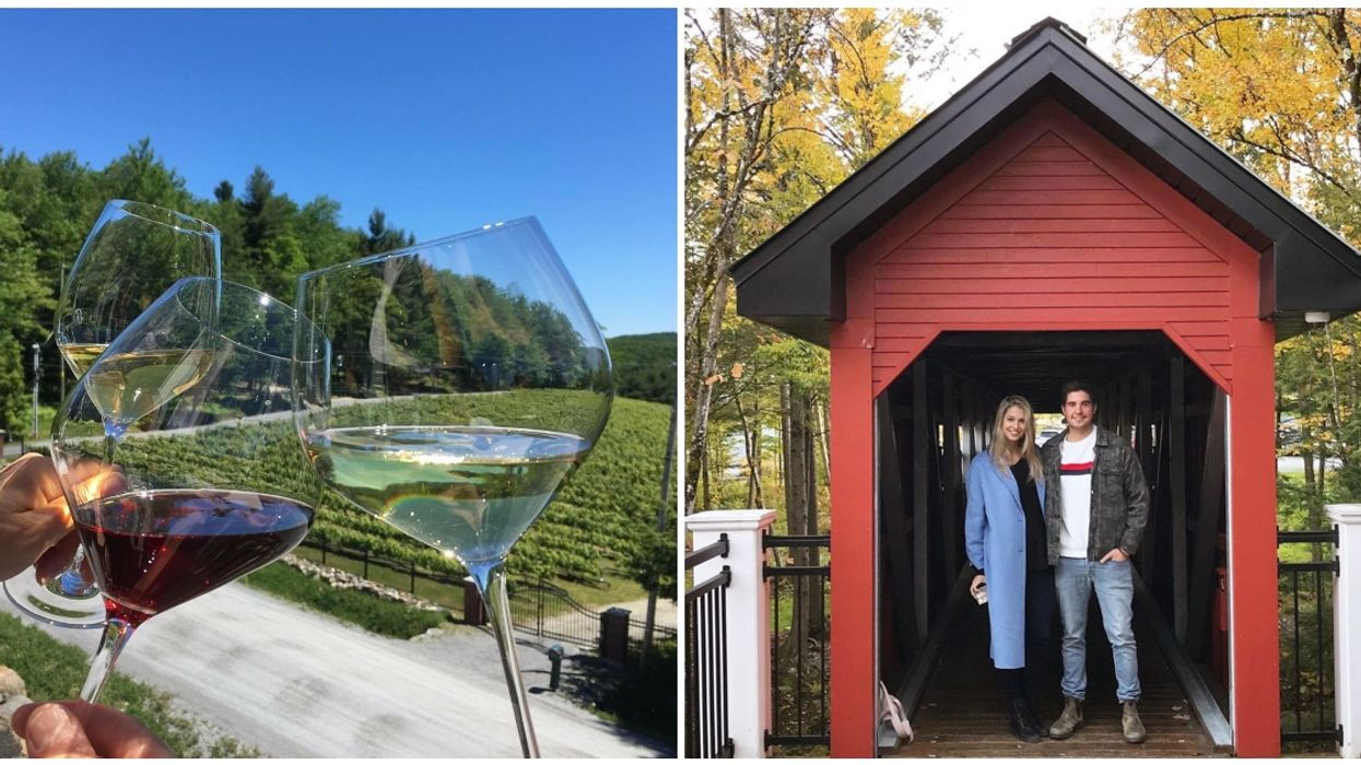 This Cute Vineyard Near Montreal Makes For The Perfect Last-Minute Autumn Getaway