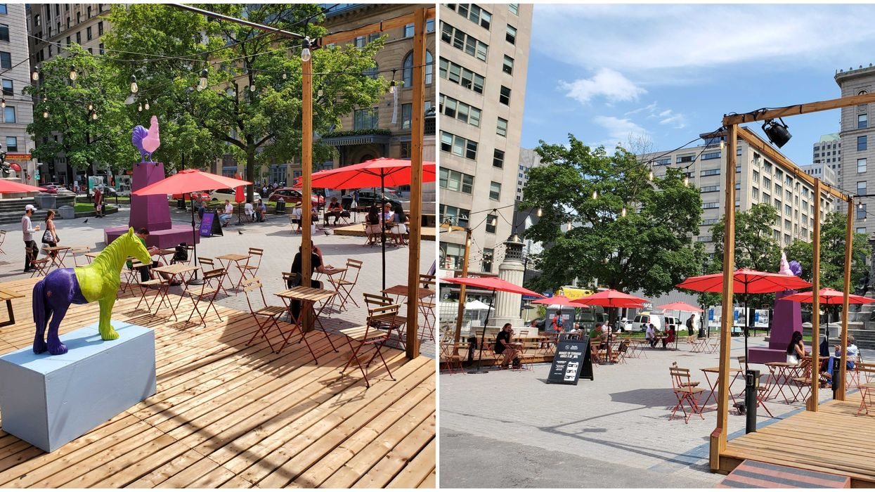 Time Out Market Just Expanded Onto Sainte-Catherine With A Giant New Terrasse