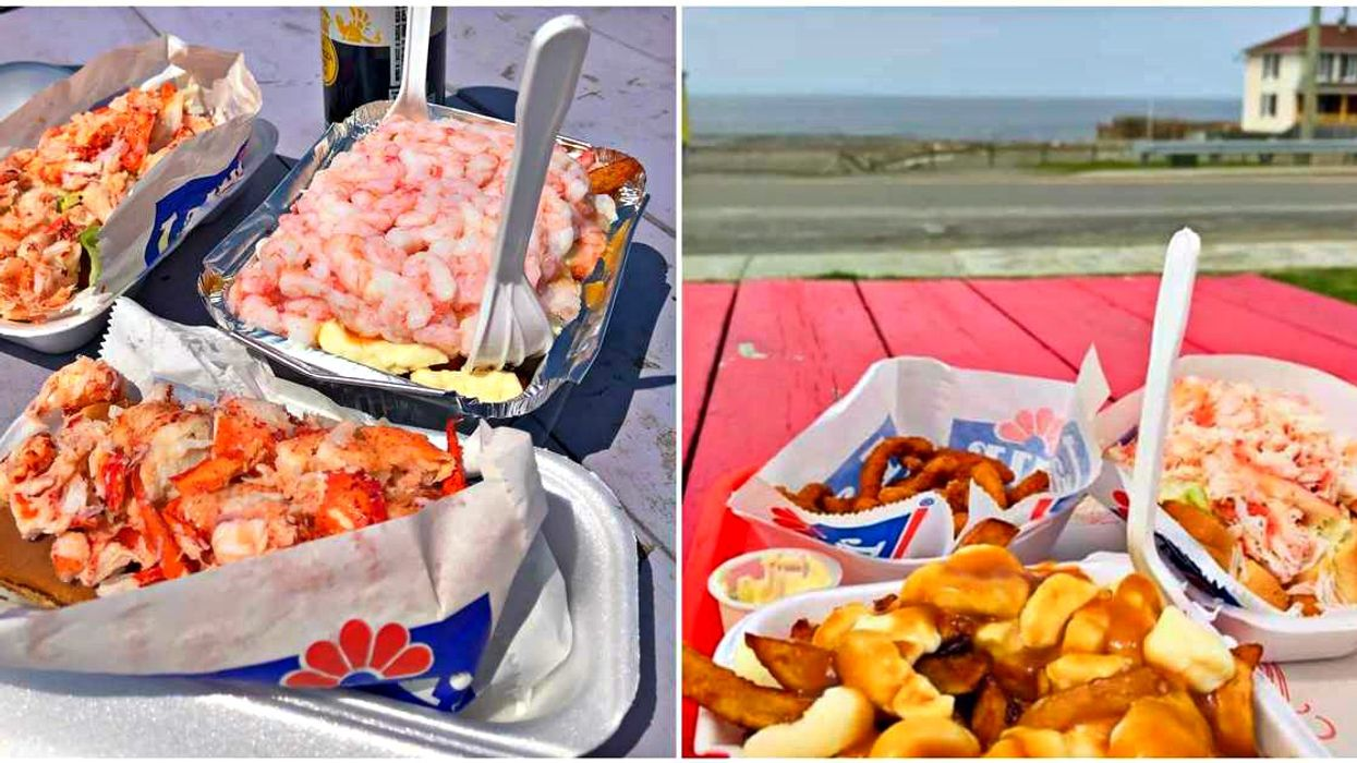 This Quebec Seafood Shack With Giant Lobster Rolls Is A Must-Stop On Your Way To Gaspésie