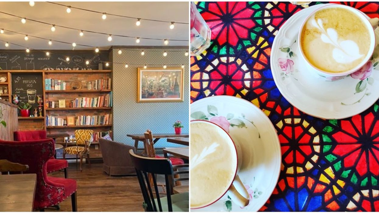 This Hidden Montreal Café Is So Calm & Colourful You'll Want To Stay Forever