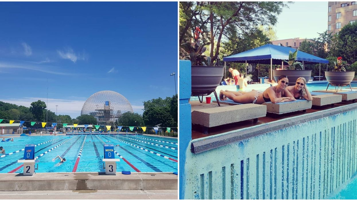 6 Public Montreal Pools To Visit Whenever The Next Heatwave Hits