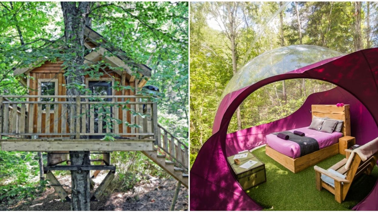 12 Treehouses You Can Rent Less Than 7 Hours From Montreal For The Perfect Nature Escape
