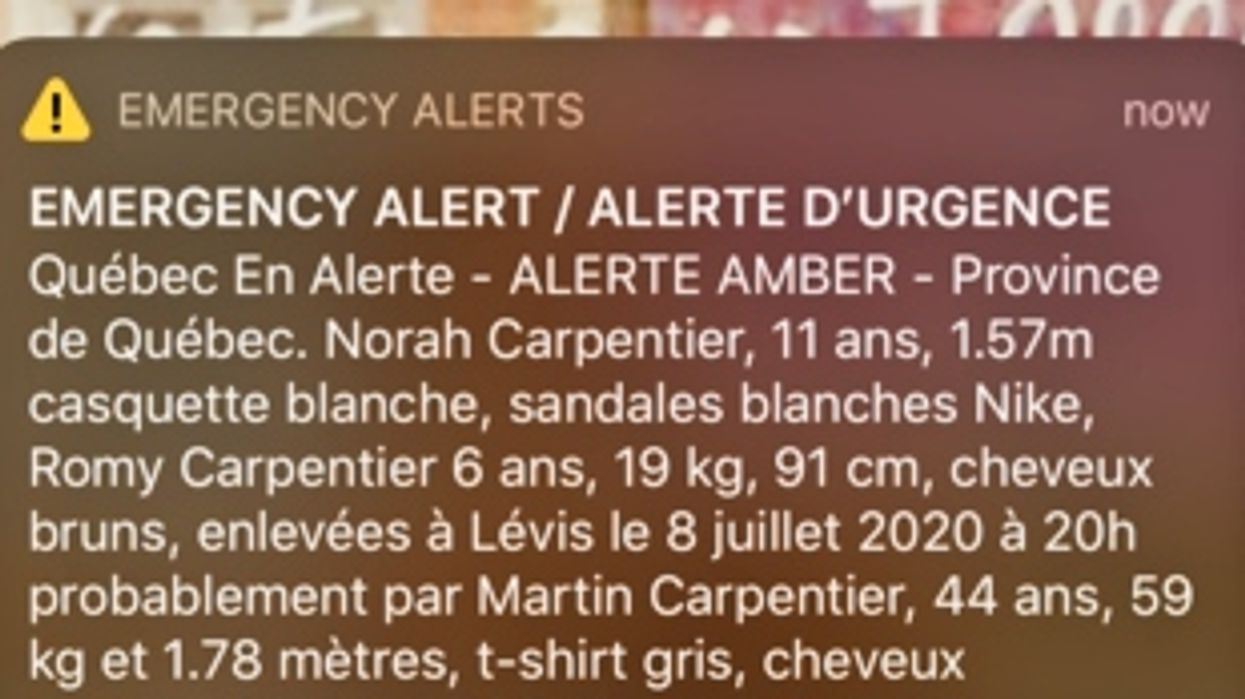 An Amber Alert Has Just Been Issued In Quebec For Two Missing Girls