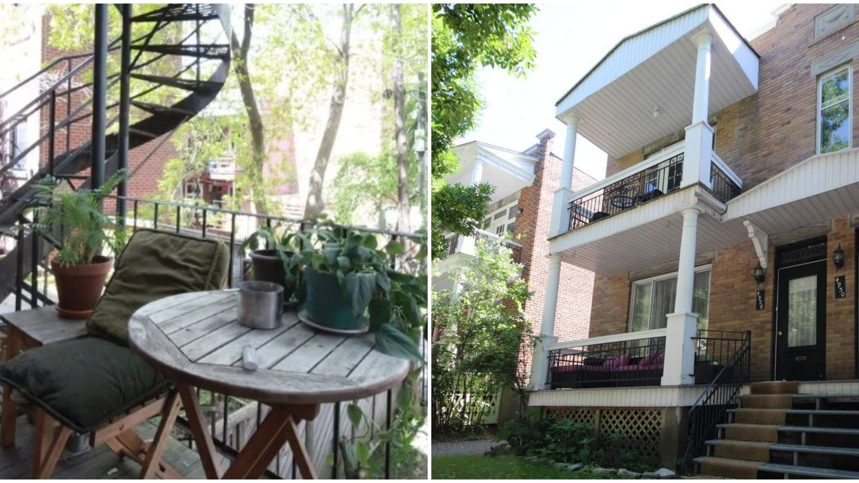 6 Montreal Apartments With Dream Balconies Perfect For Summer Sangria Drinking