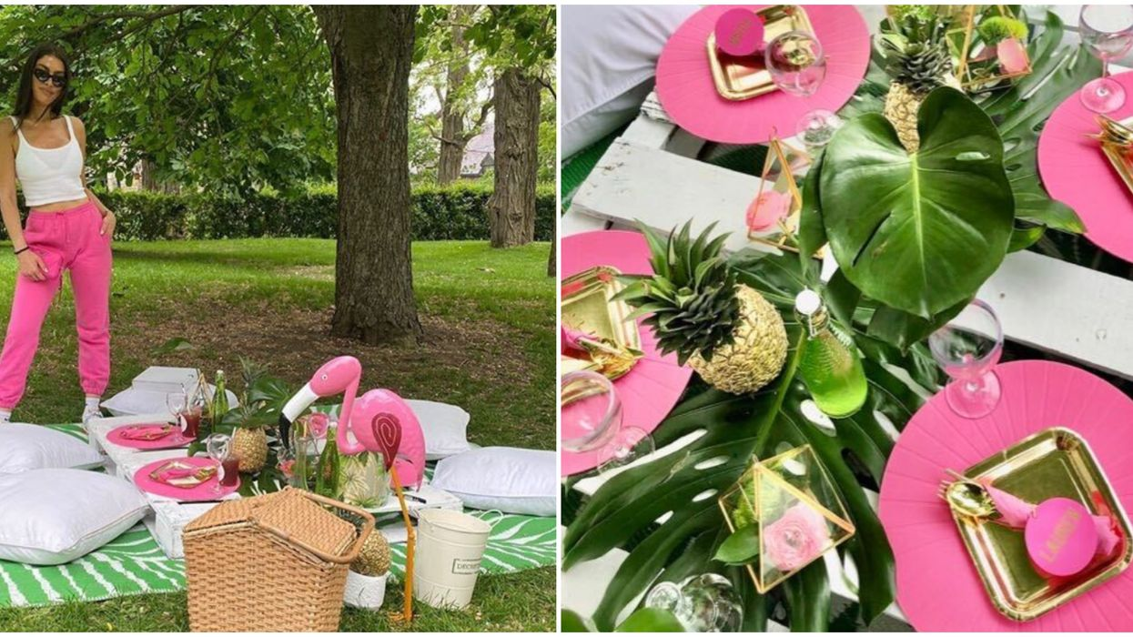 A Montreal Company Will Fully Design A Glam Picnic For You & All You Have To Do Is Show Up