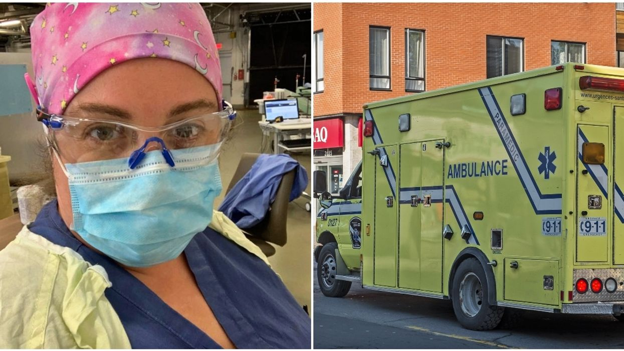 A Montreal Health Care Worker Is Begging People To Remember That 'COVID Has Not Gone Away'
