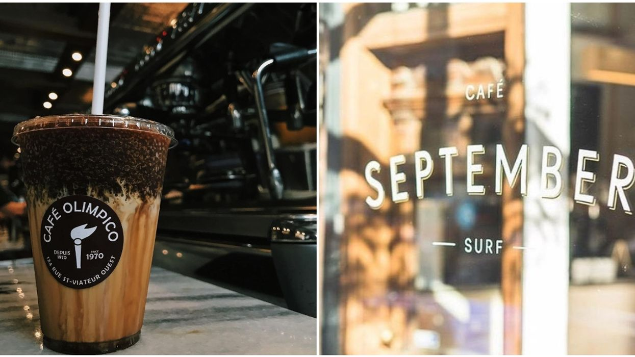 9 Montreal Cafés Offering Takeout So You Can Sip On Iced Coffee While Taking A Walk