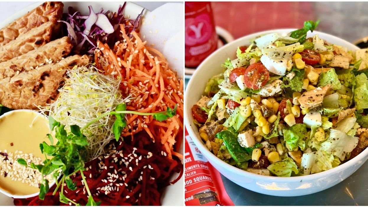 9 Healthy Restaurants To Order In Montreal When You Desperately Need A Vegetable