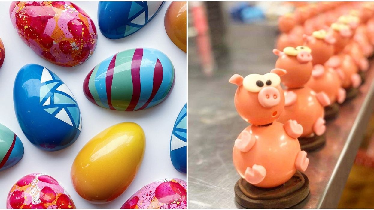 8 Local Montreal Chocolate Shops That Will Deliver Easter To Your Door