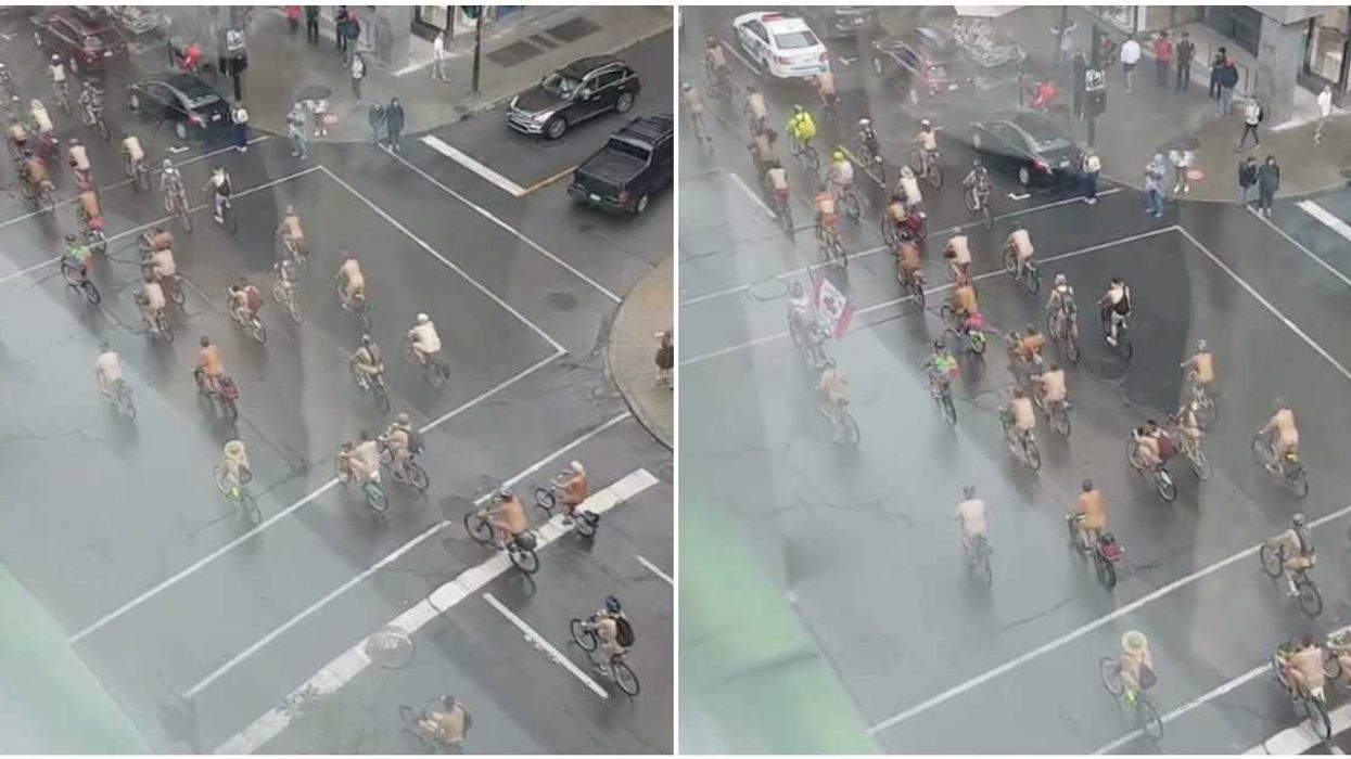 Montreal's Naked Bike Ride Is Back This Summer & You're Actually Allowed To Use BIXIs