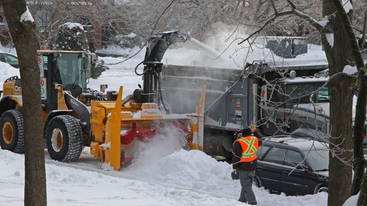 A Woman In Laval Was Struck & Killed By A Snow Removal Truck On Valentine's Day