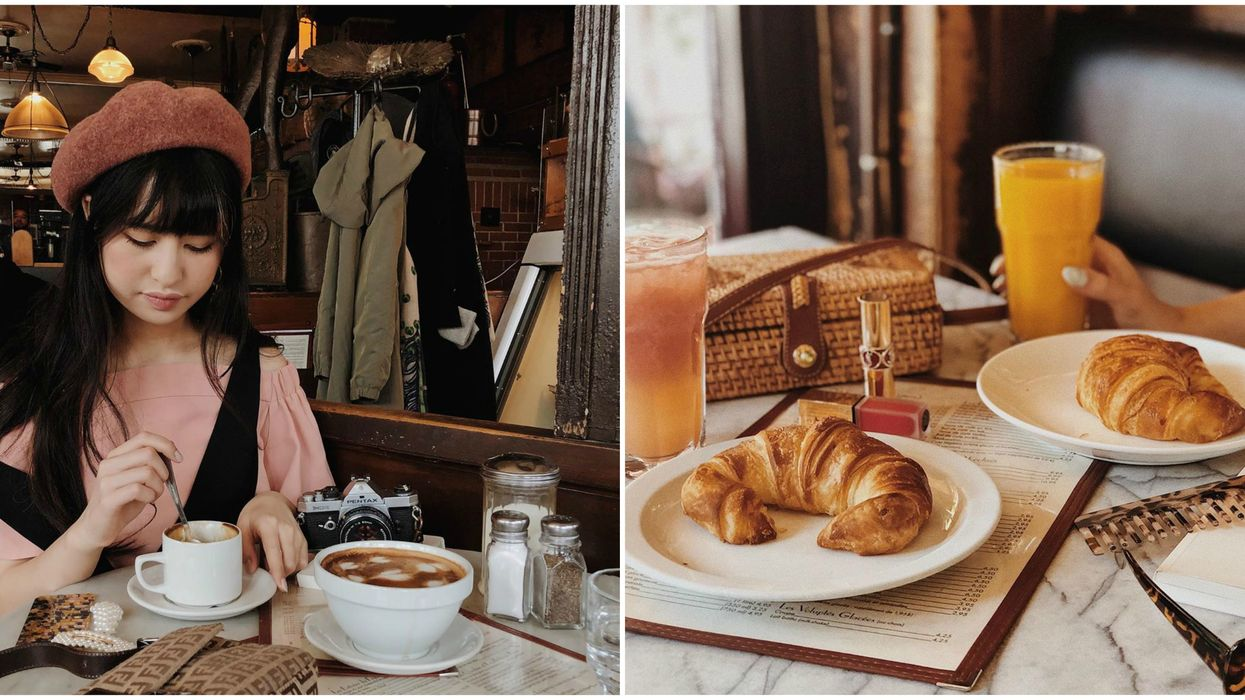 8 Montreal Cafés Where You Can Pretend You're In Paris Without The Airfare