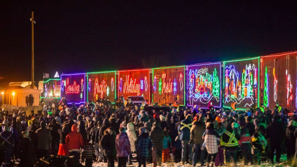 The Canadian Holiday Train Is Making 7 Stops In Quebec Today And Tomorrow Only