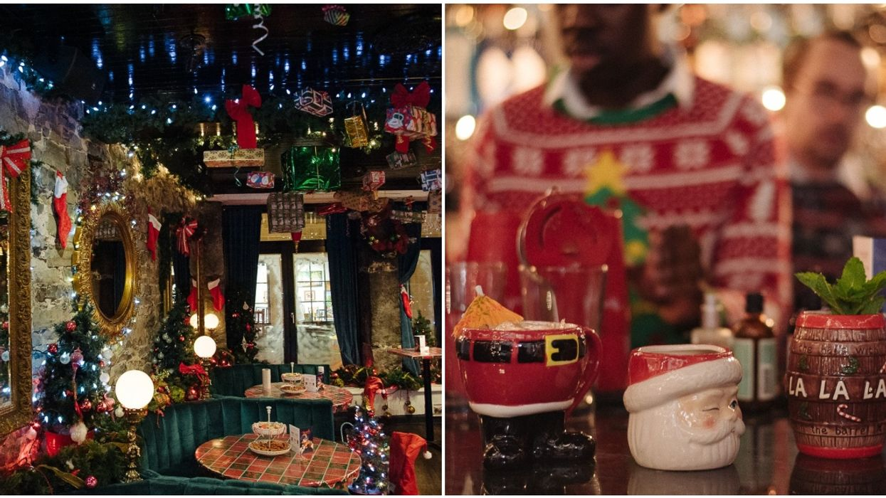 Montreal's Christmas Themed Pop-Up Bar Is Opening This Month & We Finally Know Where