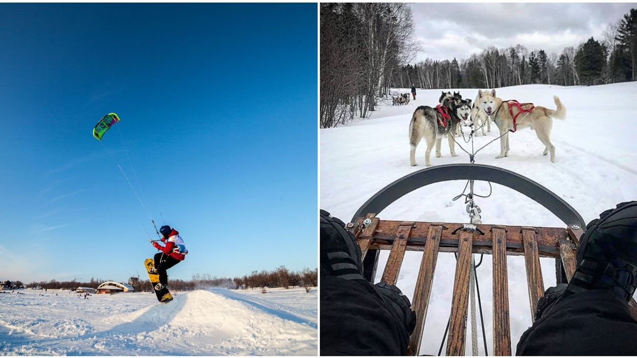 Unique, Very Canadian Winter Sports To Try In Quebec If You're Sick Of Skiing At Tremblant