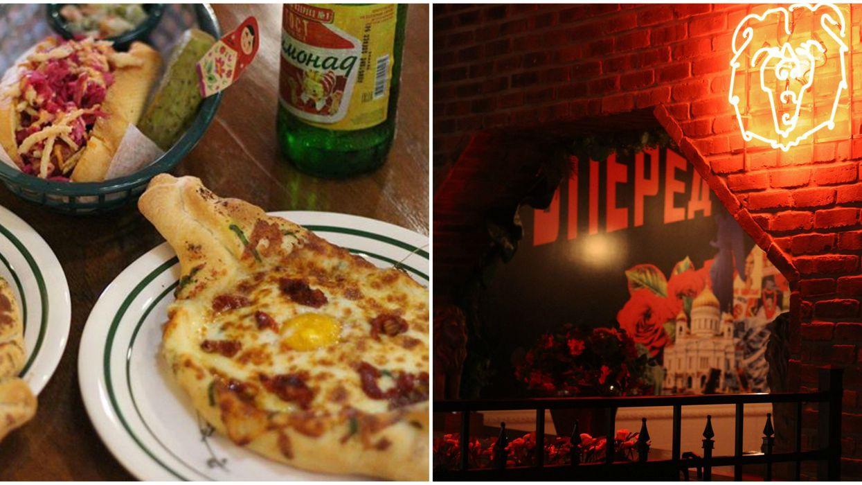 "This New Russian Comfort Food Spot In Montreal Serves Dumplings & ""Cheeseboats"""
