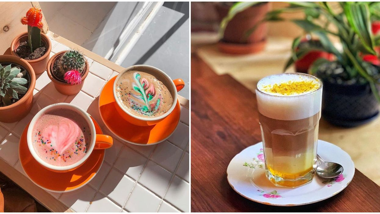 9 Colourful Lattes From Local Cafés To Brighten Your Day During Gloomy Fall Weather