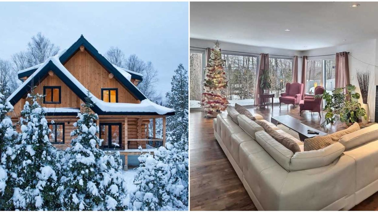 19 Cozy Airbnb Chalets Near Montreal To Escape After The First Snowfall