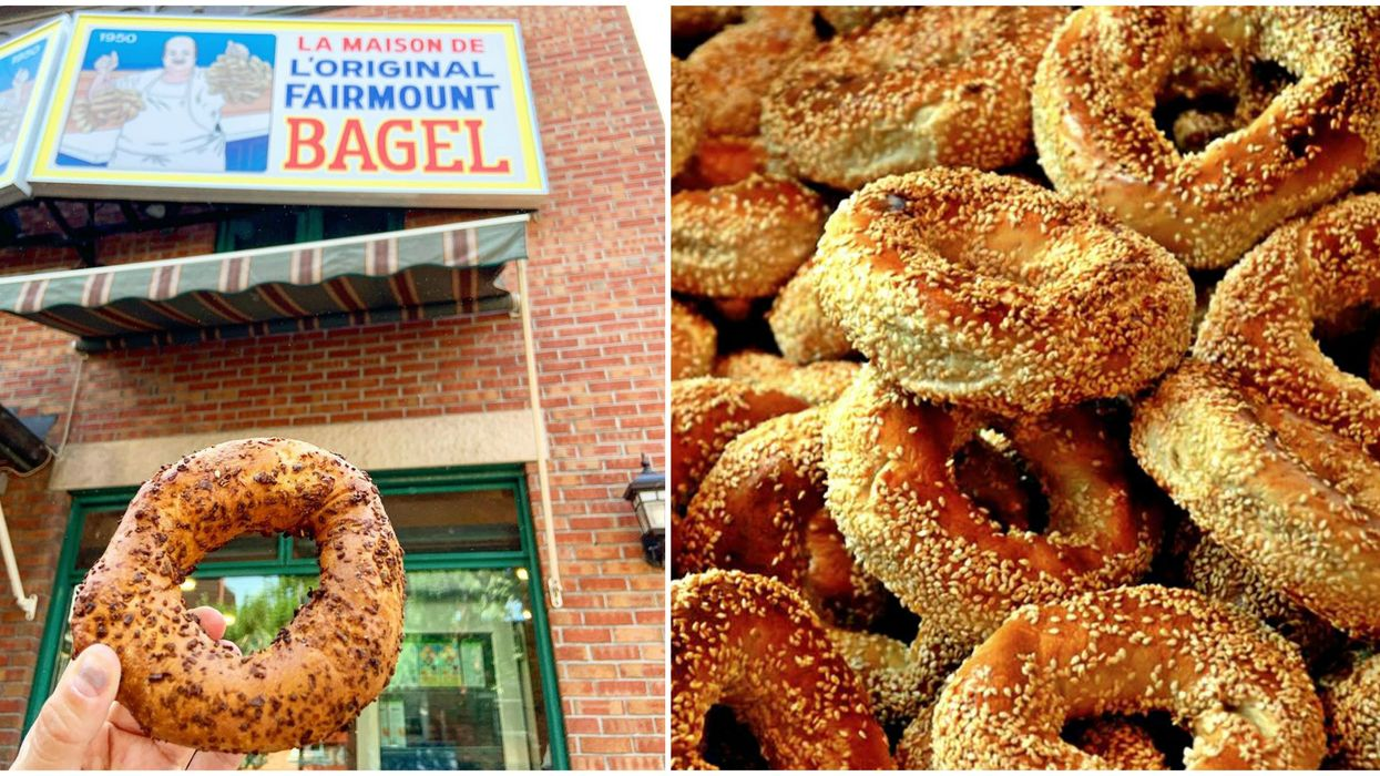 Fairmount Bagel Is Celebrating Its 100th Birthday With A Block Party & Carnival Games