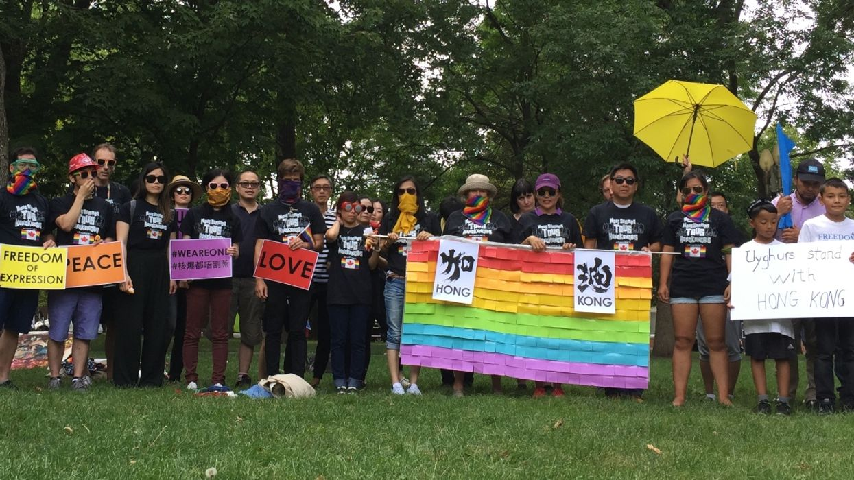 """Hong Kong Activists Were Kicked Out Of The Montreal Pride Parade After """"Sabotage"""" Threats"""