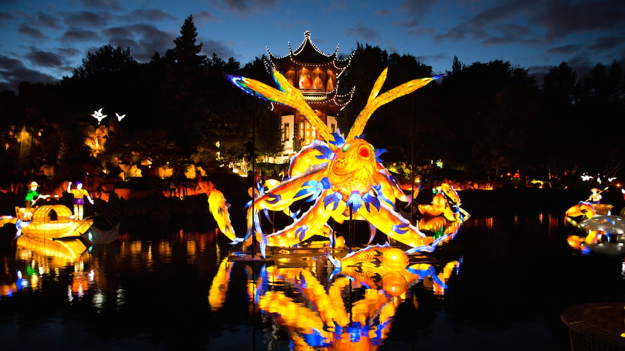The Chinese Lantern Festival Will Light Up The Montreal Botanical Garden Next Month