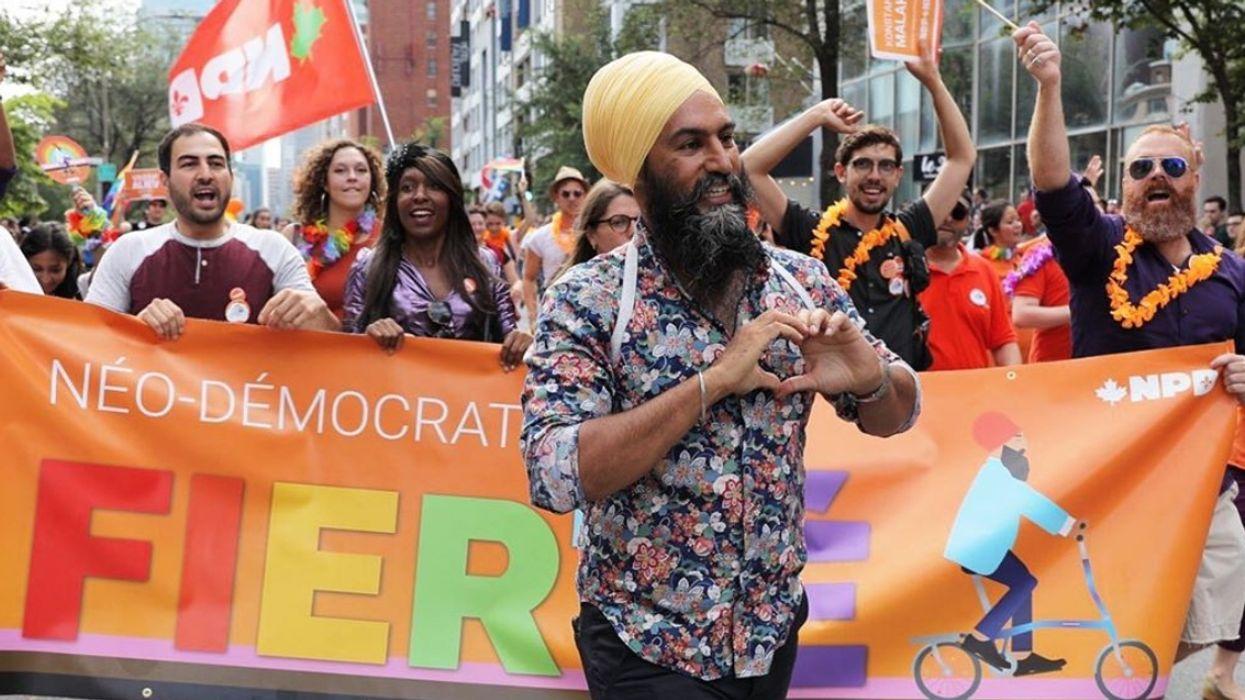 Jagmeet Singh Was Spotted Walking Around Montreal This Weekend Living His Best Life