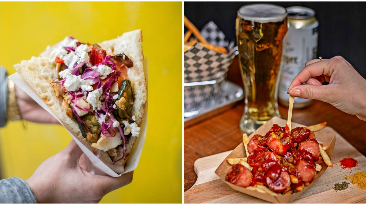 This Montreal Restaurant Serves German Street Food, Giant Sandwiches & Beer