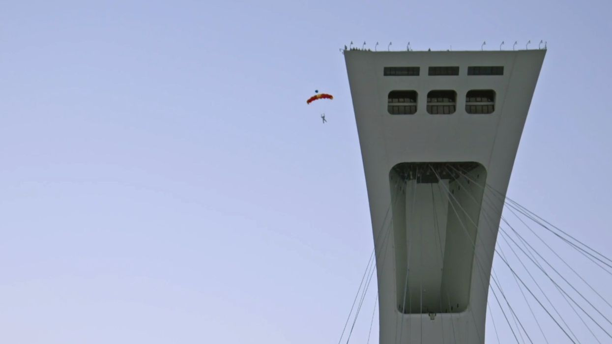 You Can Watch People Jump Off Montreal's Olympic Stadium At This Extreme Sports Festival
