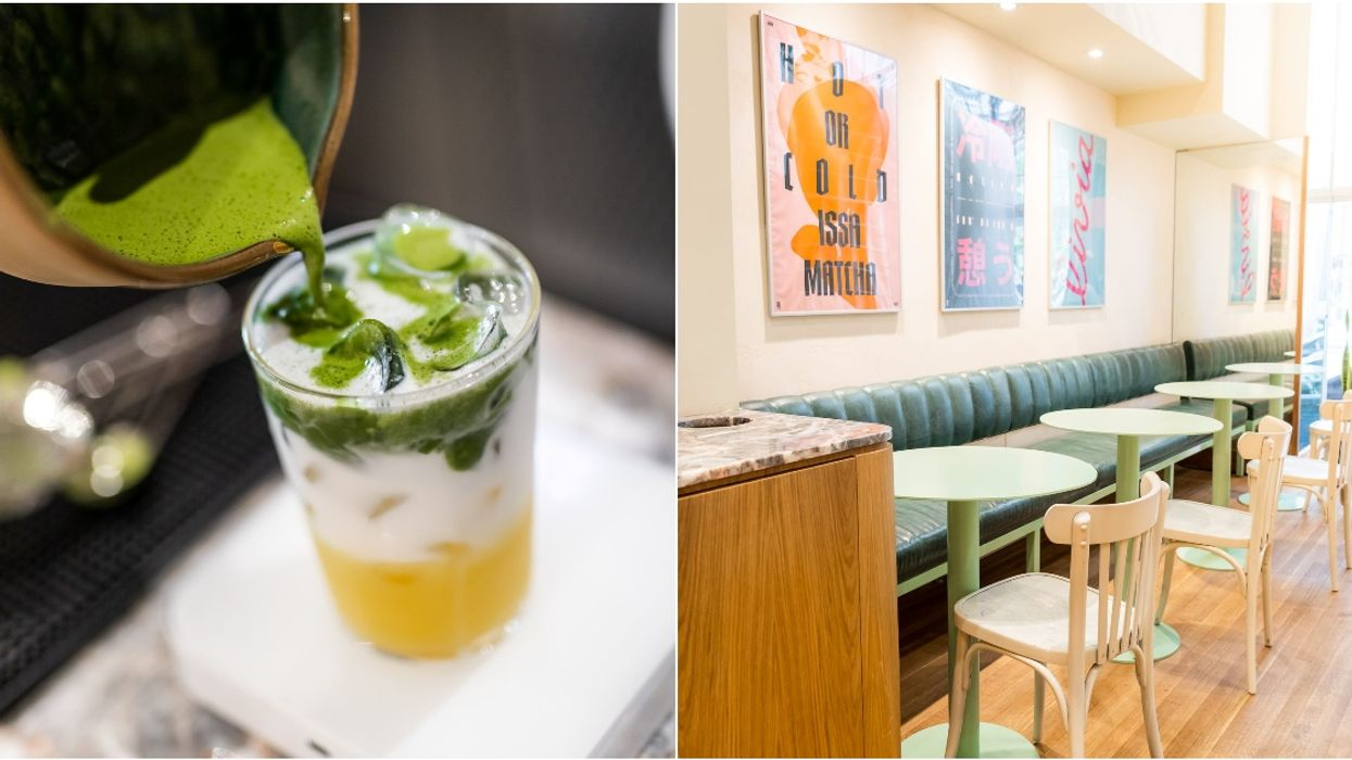 Downtown Montreal Has A Brand-New Matcha Café
