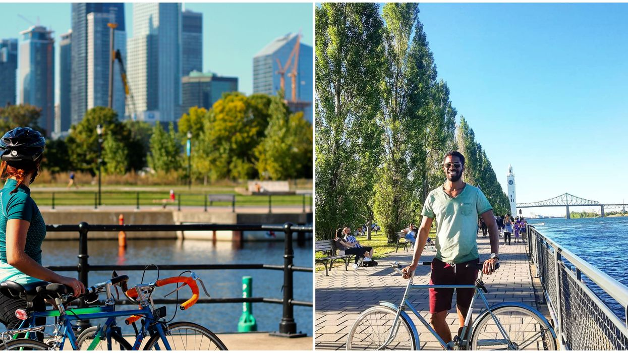 20 Bike Paths That Will Make You Fall In Love With Montreal