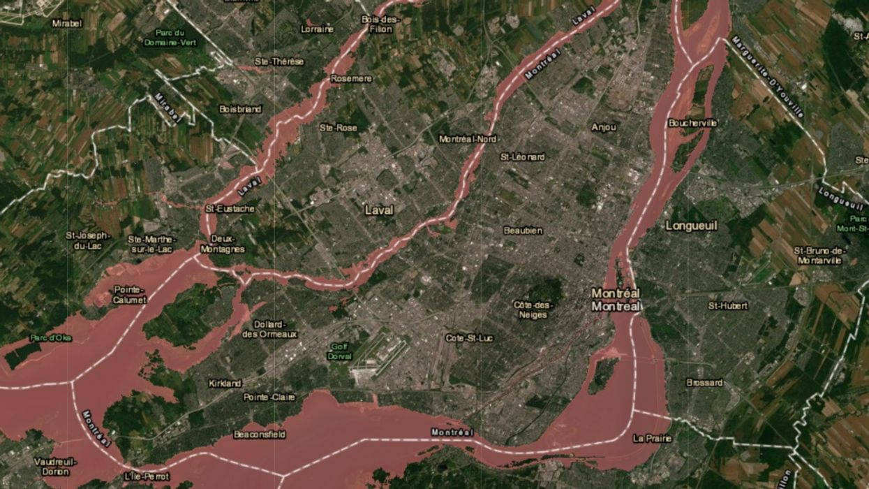 The Quebec Government Released A New Flood Risk Map & It Puts Several Montreal Neighbourhoods Underwater