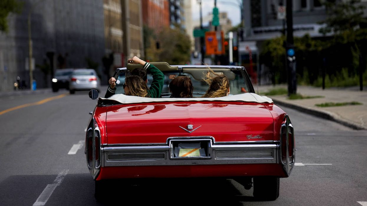 You Can Rent A Classic Convertible To Drive Around Montreal With Your Friends This Summer