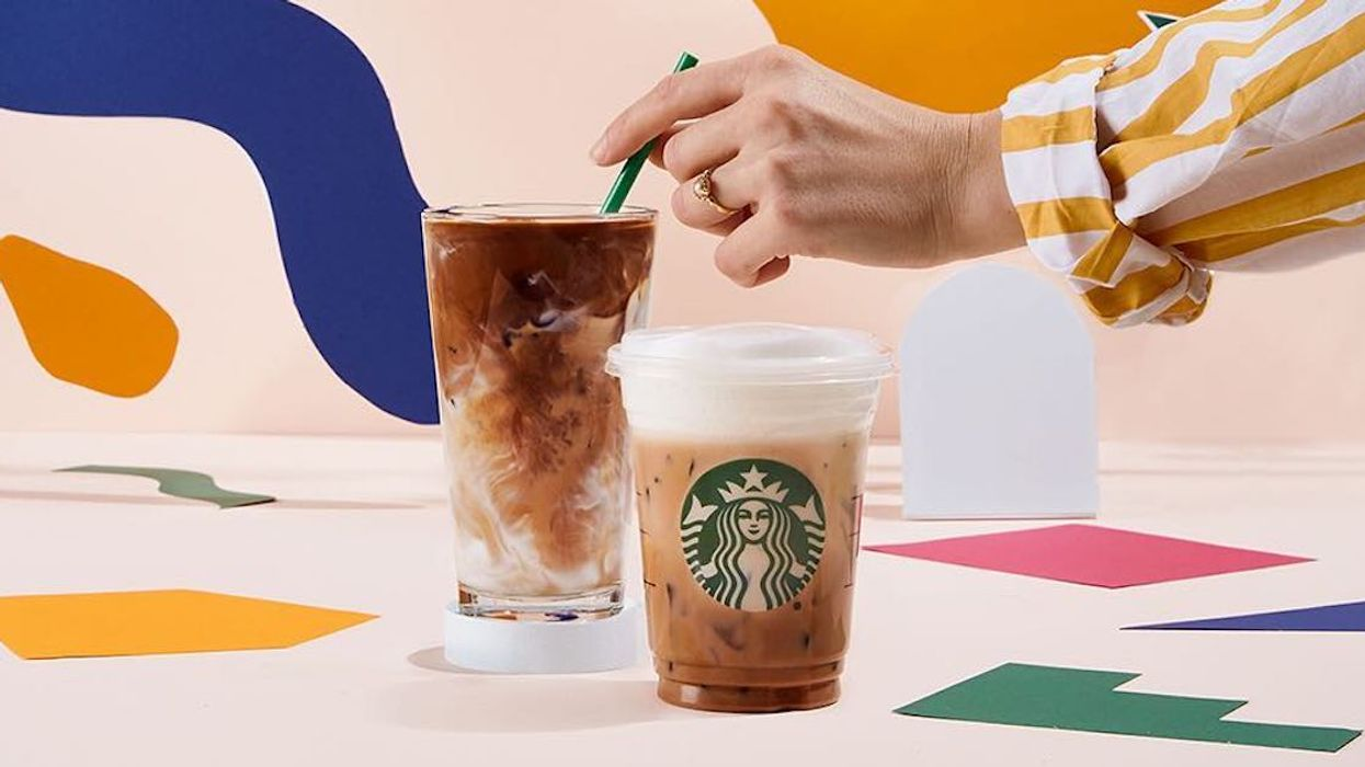 Starbucks Canada Is Having A Buy-One-Get-One FREE On All Espresso Drinks And Frappuccinos Today