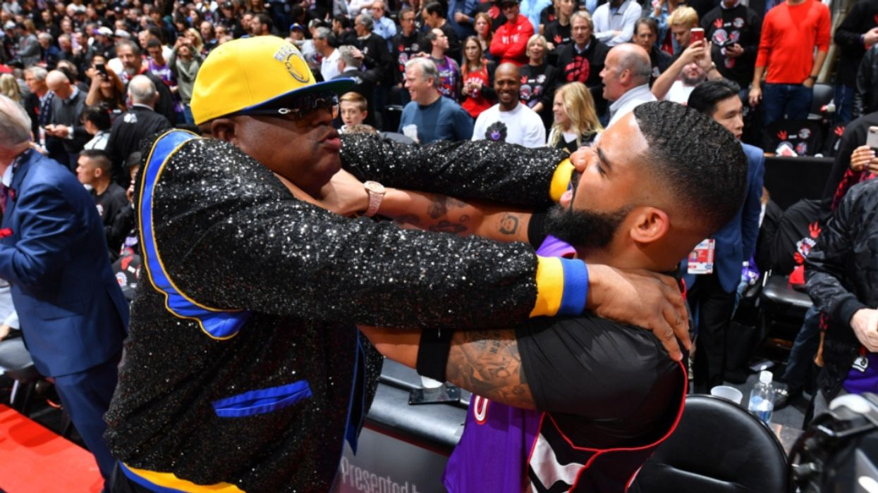 Drake's Most Outrageous Courtside Behaviour At Game 1 Of The NBA Finals Last Night