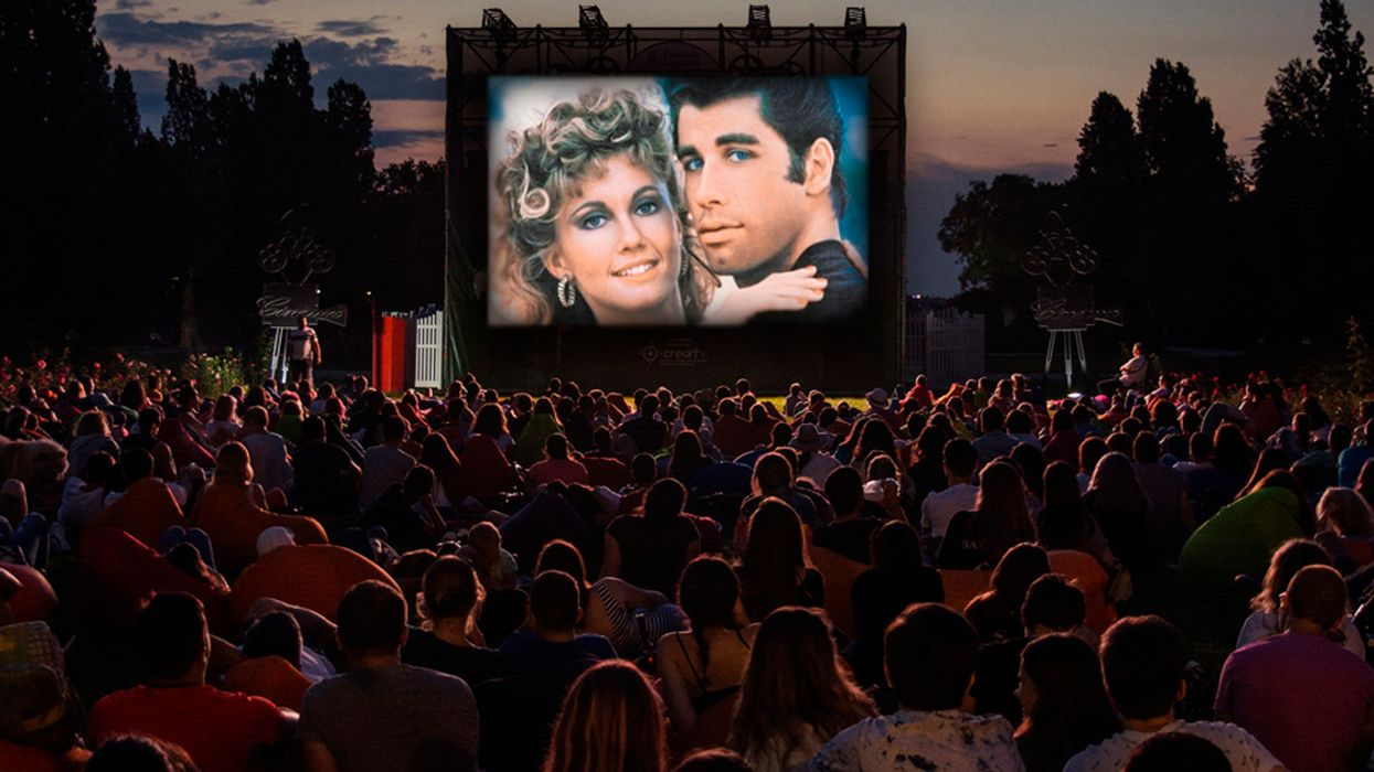 """You Can Watch """"Grease"""" Under The Stars At An Outdoor Movie Theatre This Weekend In Montreal"""