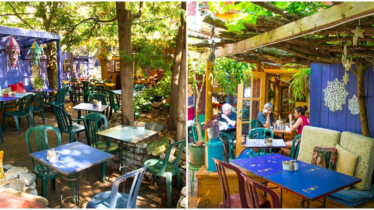You Have To Check Out Montreal's Most Magical Hidden Garden Terrasse This Summer