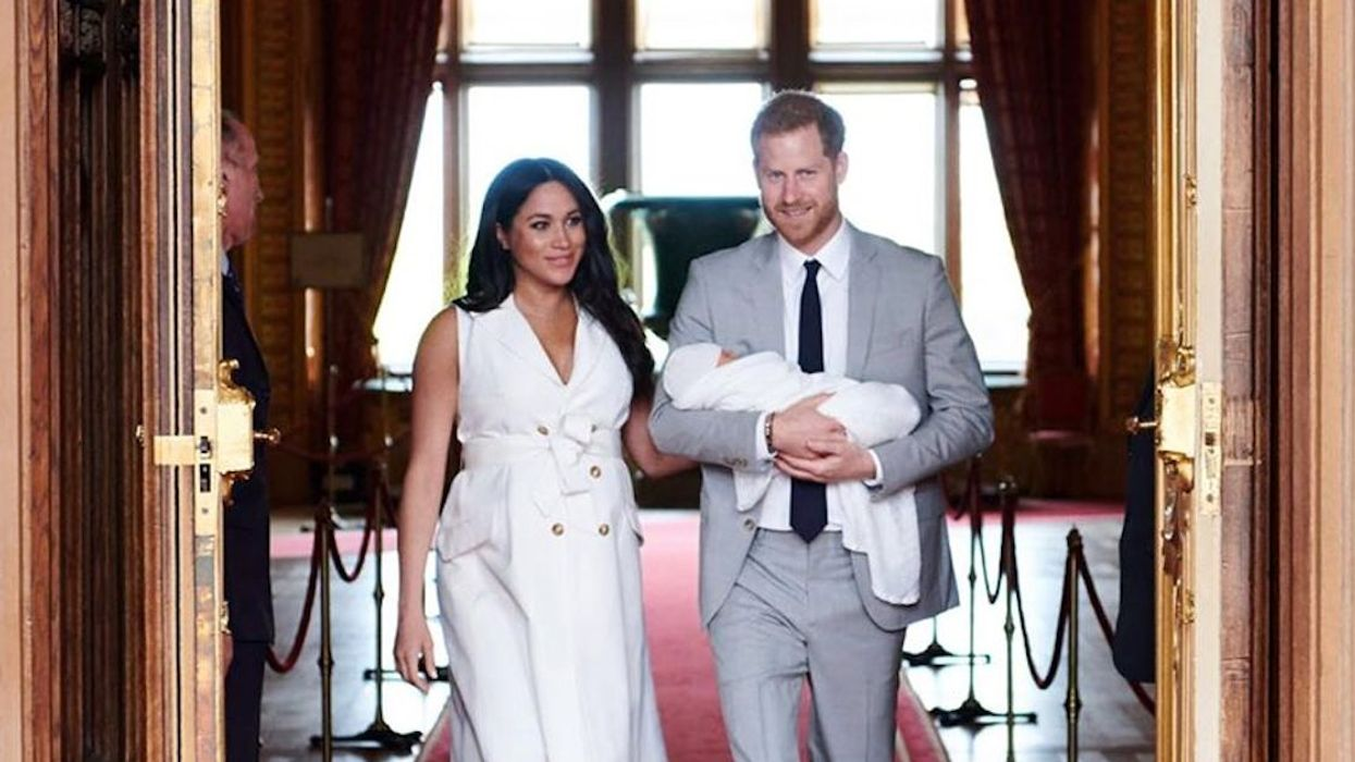 Meghan Markle And Prince Harry Reveal Royal Baby Name