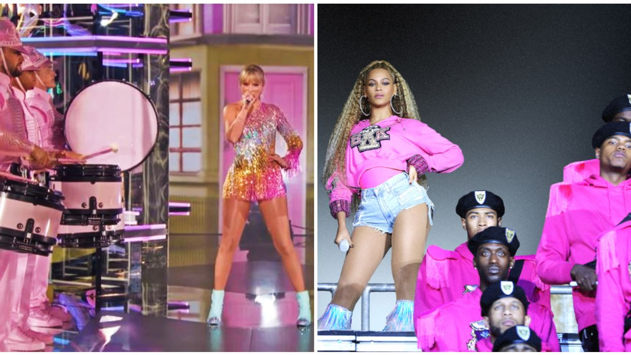 People Online Are Saying Taylor Swift Is Trying To Be A White Beyoncé
