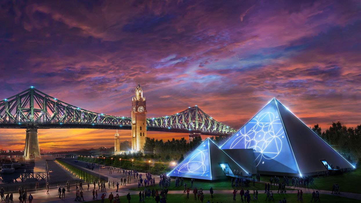 Montreal's PY1 Pyramid Will Be Hosting Themed Parties At The Old Port This Summer
