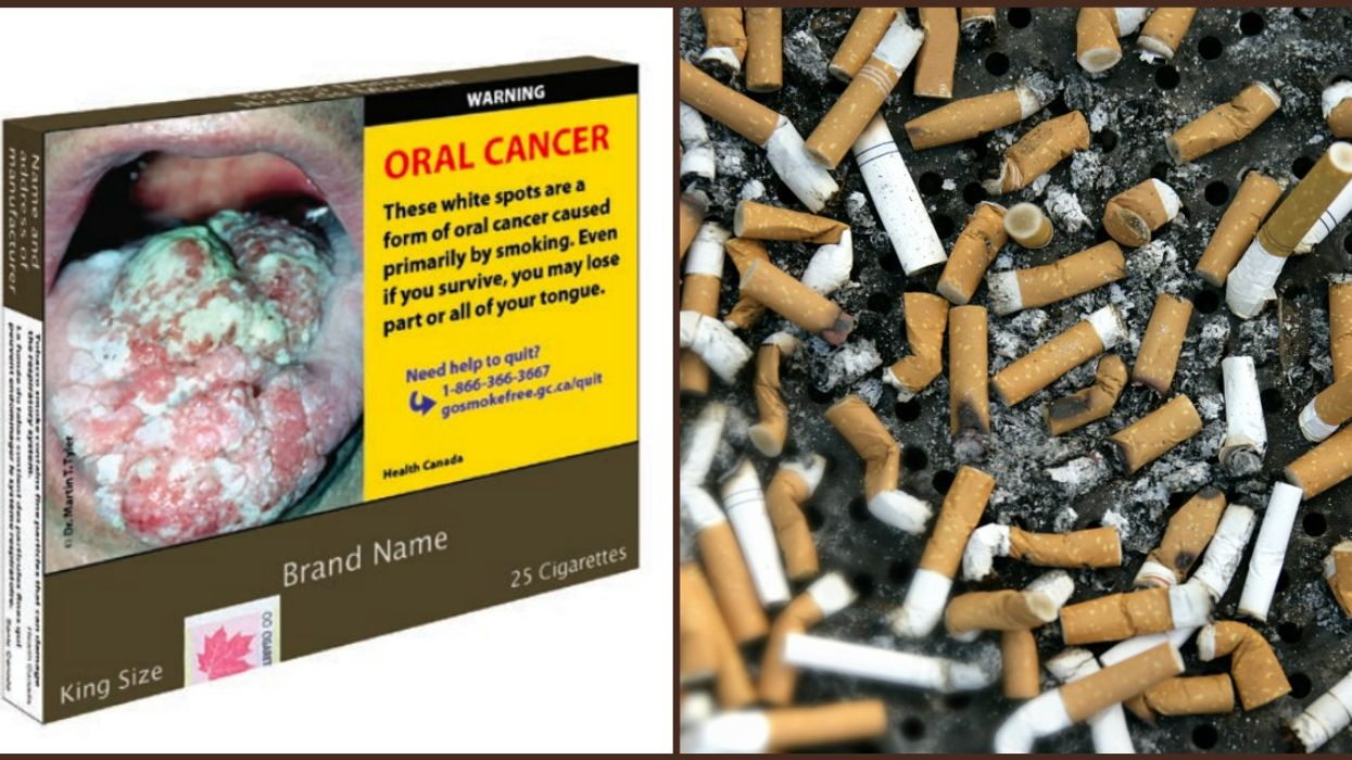 The Government Of Canada Is Changing Cigarette Packaging Again To Make It Even Nastier