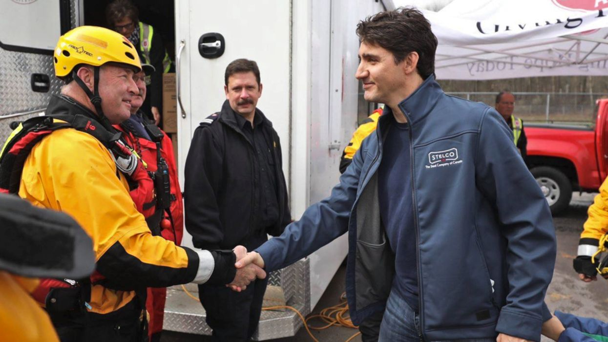 Trudeau Gets Heckled For Slowing Down Flood Relief Efforts In Canada (Video)