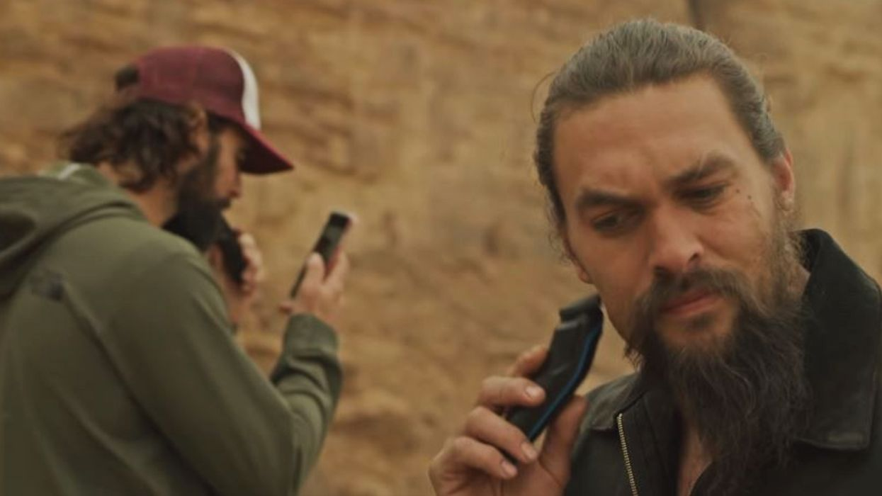 Jason Momoa Has Shaved His Beard And He's Unrecognizable Now