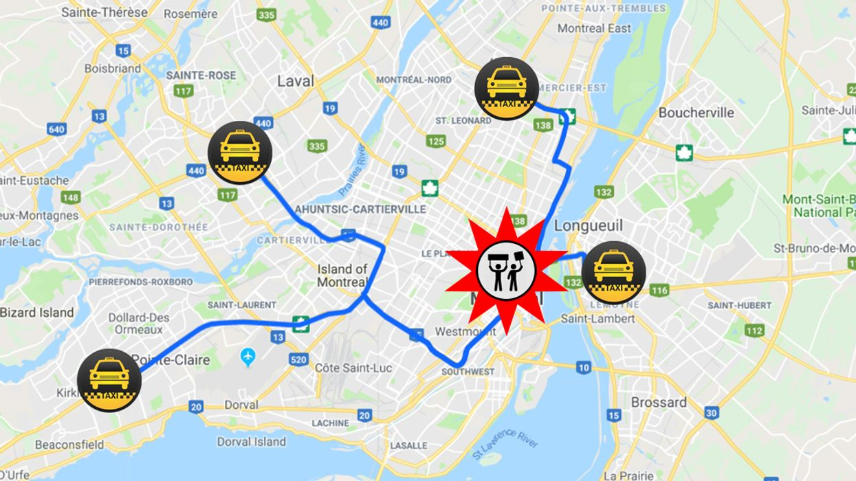 All The Streets In Montreal You Should Avoid Today
