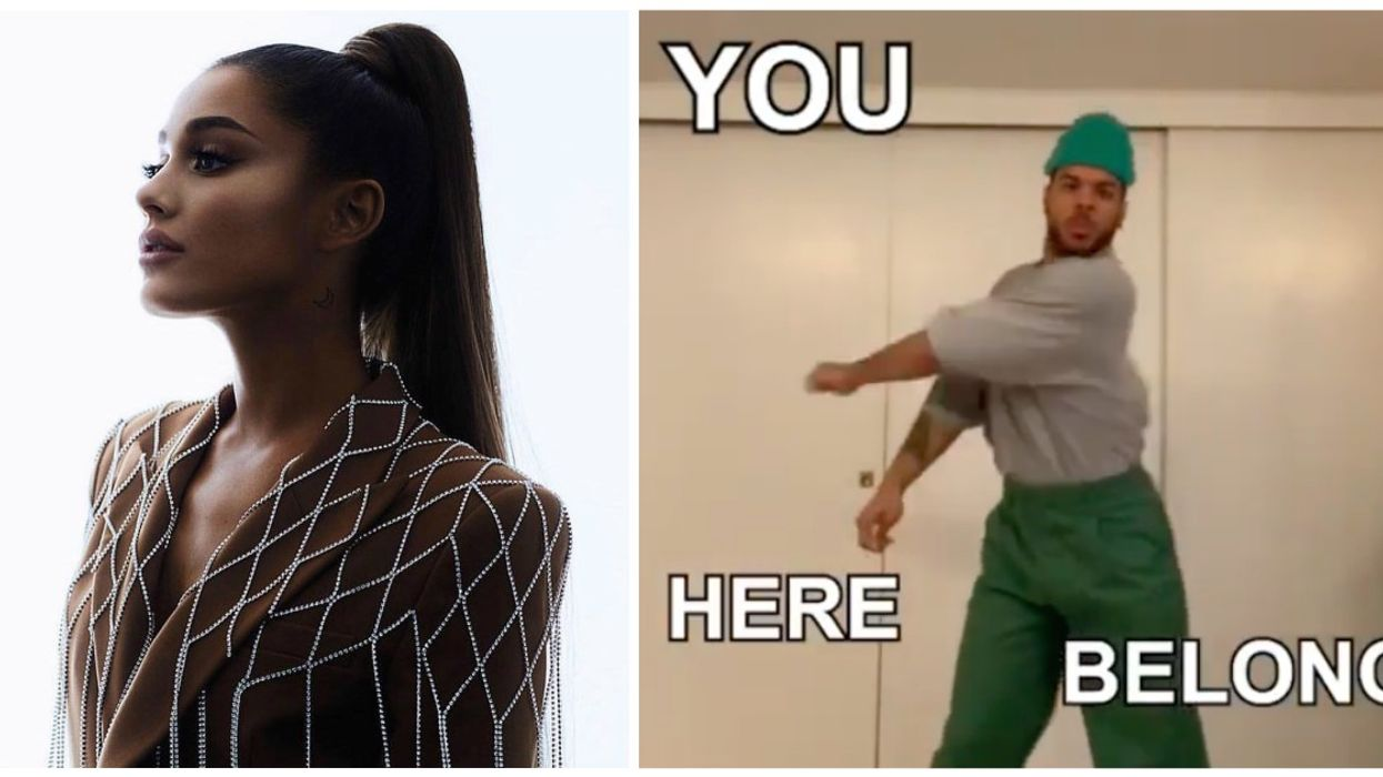 """Ariana Grande Drops Epic New Music Video For """"Monopoly"""" Featuring Canadian Dancer And Instagram Star Donte Colley"""
