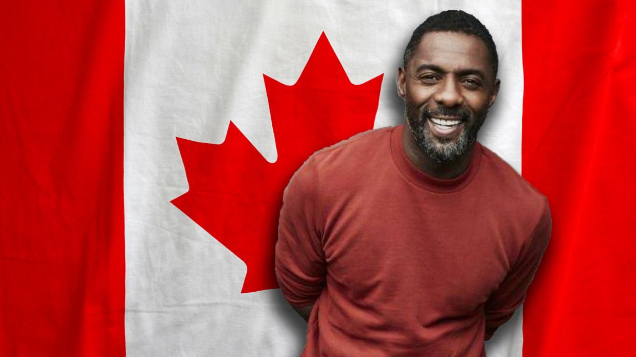 Video Shows Idris Elba Test His Knowledge About Canada And It's Adorably Embarrassing