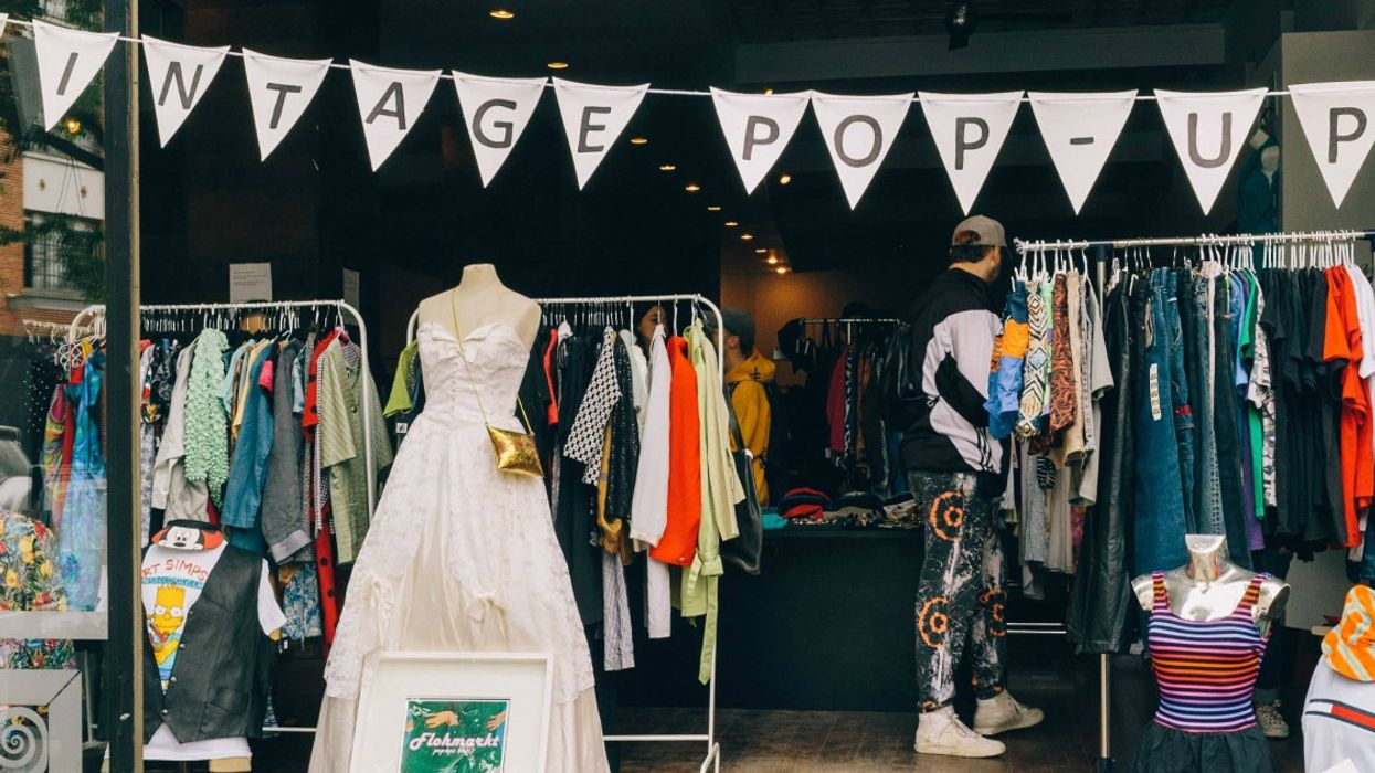 Montreal's Largest Vintage Pop-Up Shop Is Coming This Weekend