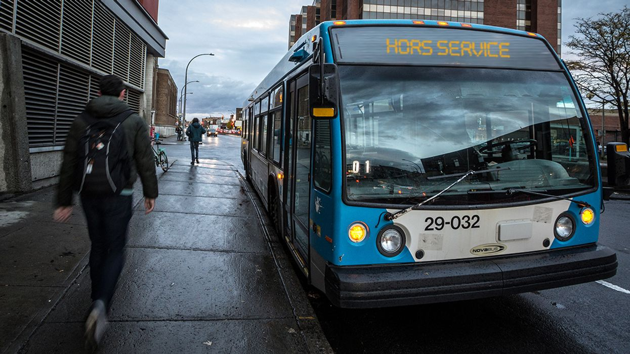 STM Warning: Hundreds Of Buses Will Be Cancelled In Montreal