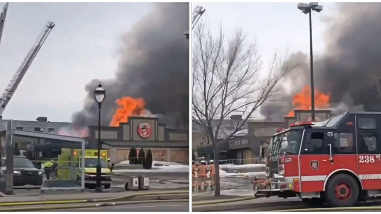 Update: Here's Everything We Know About The Fire In Montreal's Pointe-Aux-Trembles (Videos)