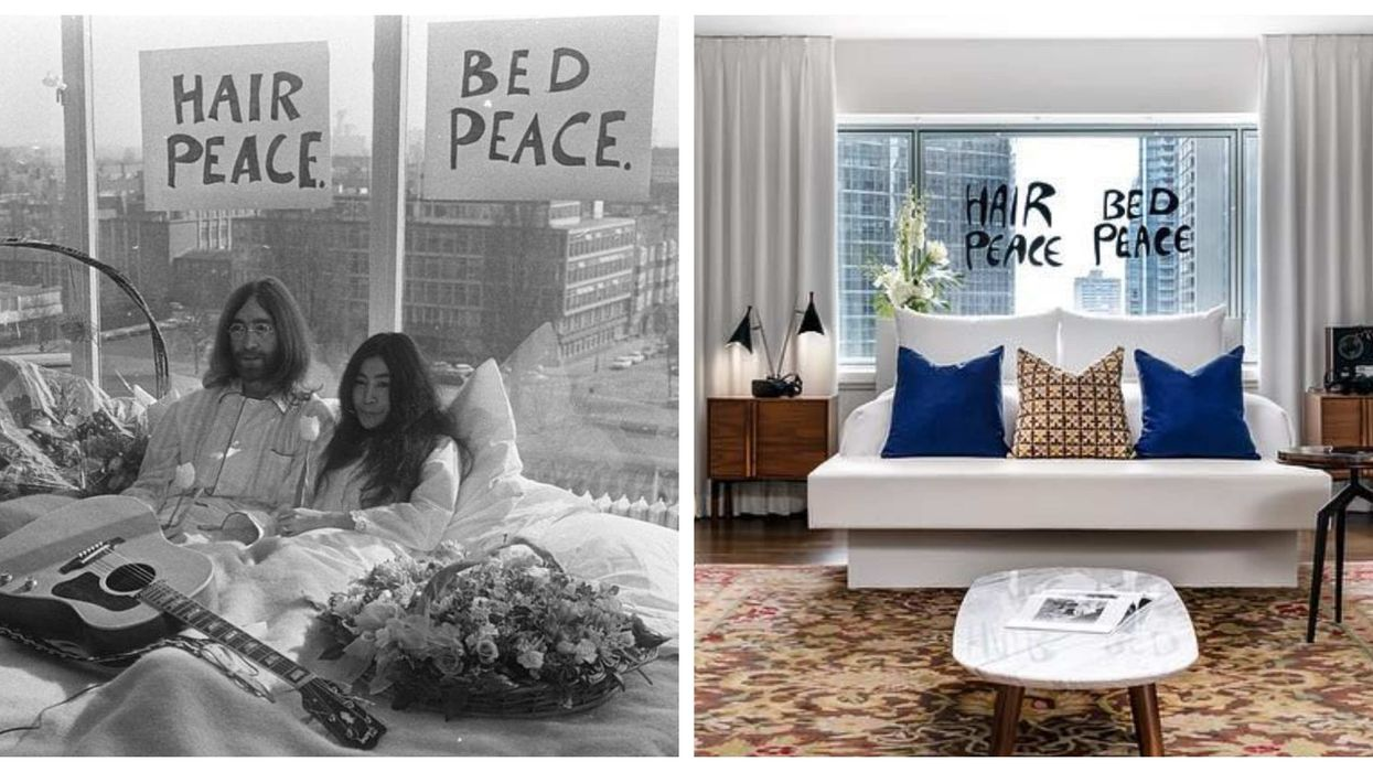 You Can Now Stay At The John Lennon & Yoko Ono Suite At The Fairmont Hotel Montreal (Photos)