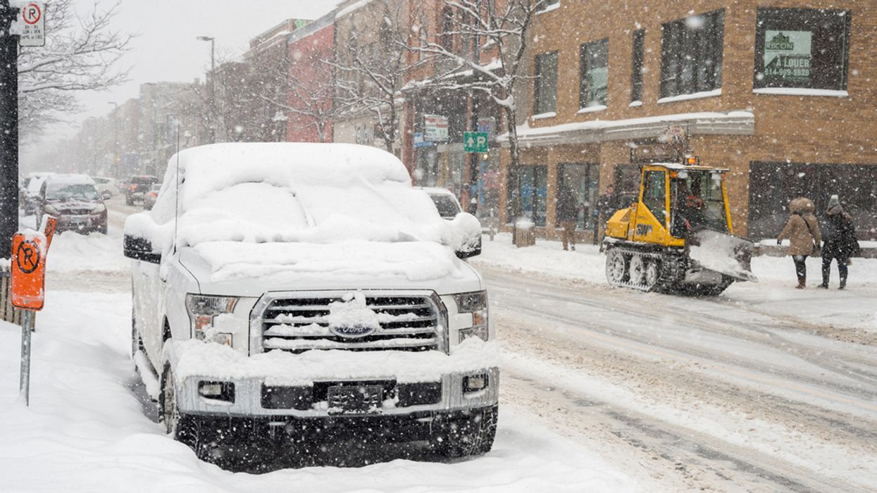 Environment Canada Warning: Montreal To Be Hit With 15cm Of Snow Tonight